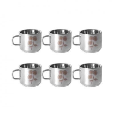 Stainless Steel Double Walled Tea/Coffee Cup